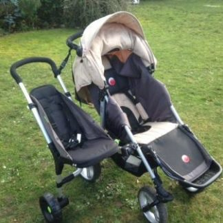 Pushchairs with 2nd & 3rd Seat Options